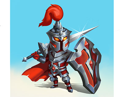 RPG game knight warrior