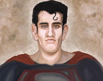 Man Of Steel - Henry Cavill - Caricature