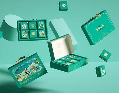 Dragon Boat Festival Gift Box Design