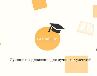 e.Graduated redesign website