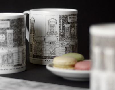 Mug for Cambridge University Press Bookshop