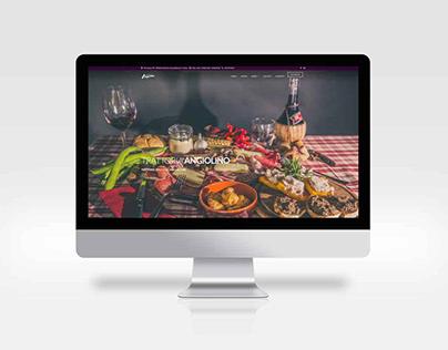 Angiolino restaurant - Website