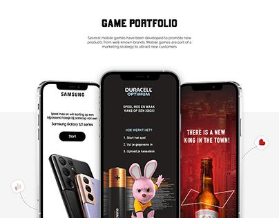 Mobile Game Portfolio