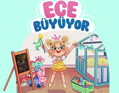 Children's Book 'Ece Büyüyor' 2