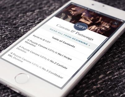 Mozart boxset iOS companion app