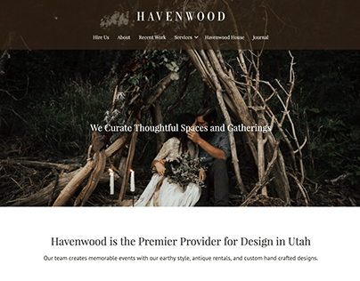 Havenwood: Brand and Website Design