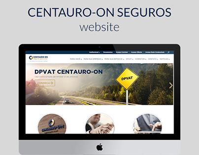 CENTAURO-ON Seguros website