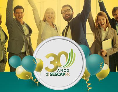 Campanha 30 anos SESCAP-PR
