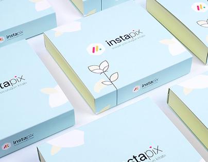 İnstapix Markası için Bristol Sürgülü Kutu Tasarımı