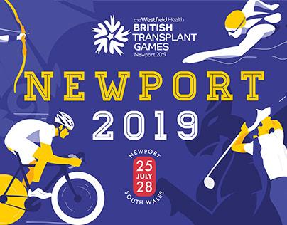 British Transplant Games - Newport 2019