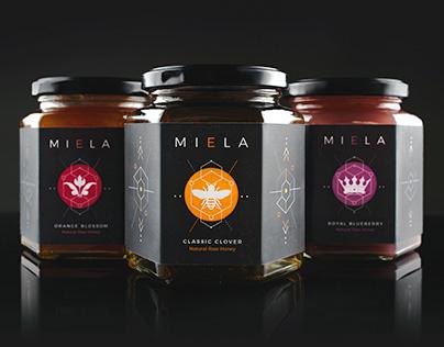 Miela Honey   Packaging & Website