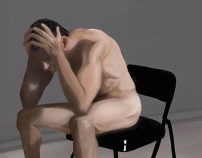 Estudos de Anatomia e Pintura Digital