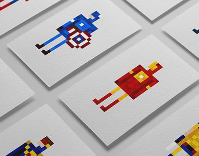Pixel heros (Marvel)
