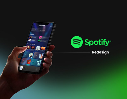 Spotify - User Interface Redesign