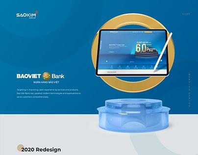 BAOVIETBANK | website redesigns