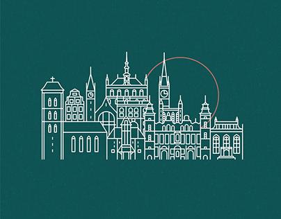 Gdańsk ICON SET // 2019
