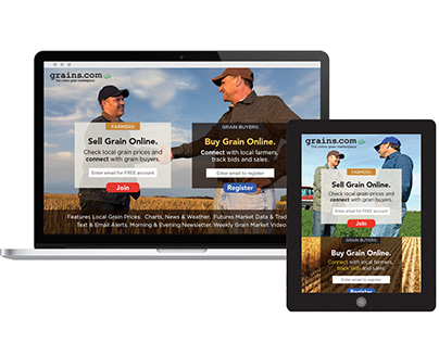 Branding & Landing Page for AgTech