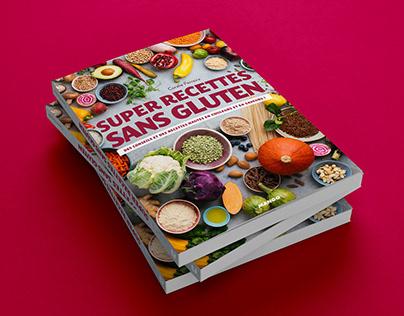 Super recettes sans gluten | Book design