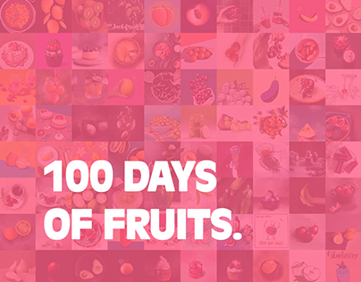 100 Days of Fruits