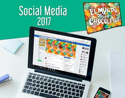 El Mundo de los Chocolates Perú Social Media 2017