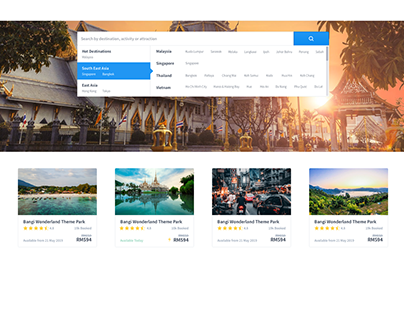 W Travel Web UI