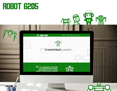 Web Robot 6205