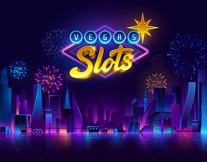 Vegas Slots Game UI