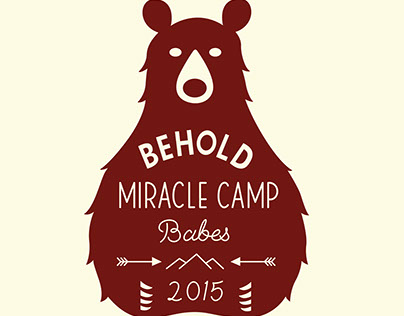 Miracle Camp T-shirt Design
