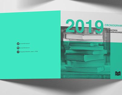 Ciclo de narrativas - Branding, Editorial Design