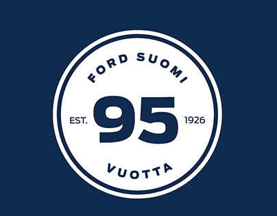 Ford Finland Anniversary Logo
