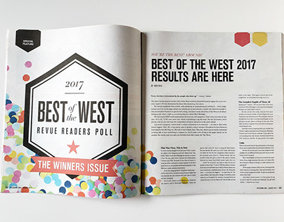 Revue Magazine | Best of the West winners feature
