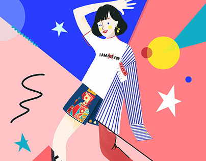 Illustrations for TAOBAO