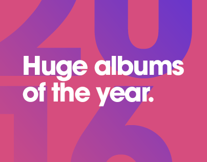 huge albums of the year.