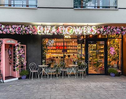 Flower Studio Story - Eliza Flowers