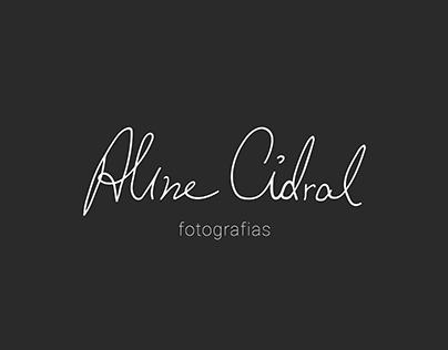 Aline Cidral Fotografias - Identidade Visual
