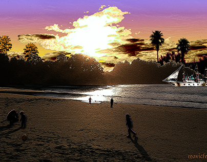 Sunset_Project 3_ Afternoon on the beach