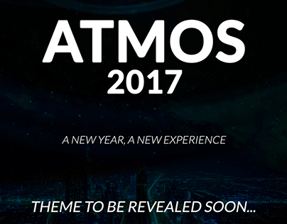 ATMOS 2017 Theme reveal posters