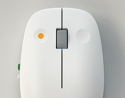 Mouse_Inspired by Dieter Rams