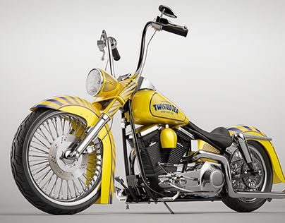 Twisted Tea Custom Harley Davidson