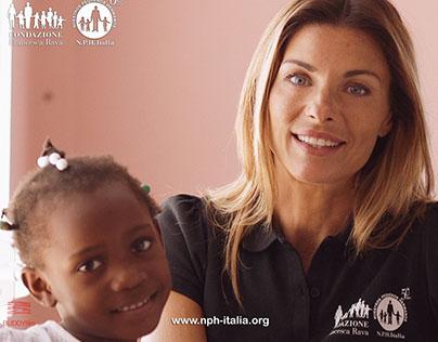 Haiti NPHItalia Adozione a distanza - Martina Colombari