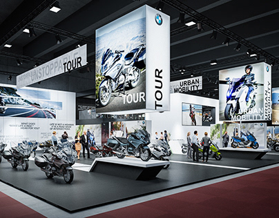 Concept for BMW Moto @ Brussels Motor Show 2016
