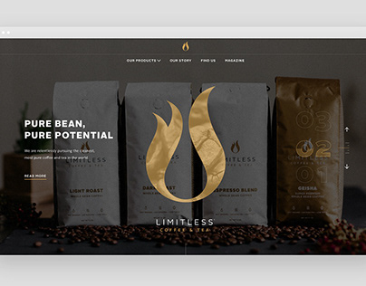 Limitless Coffee Pure Bean, Pure Potential