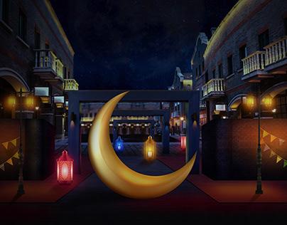 Ramadan Light Mainpulation