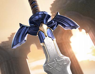 LINK MASTER SWORD (fanart)