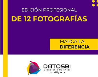 DATOSBI Edición de fotografías