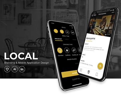 Redefining: Local Mobile App
