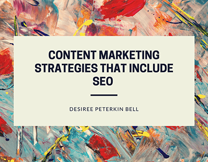 Content Marketing Strategies That Include SEO