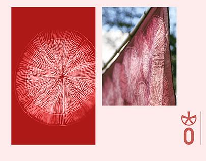 Foulard- textile pattern