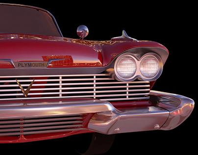 """Christine"" 3D Model"