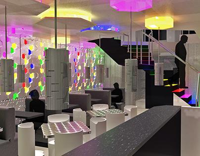 "Design 3 - Project 2: ""Small Restaurant""   ""HAIBU"""